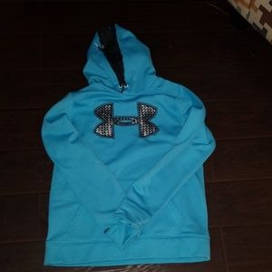Under Armour Blue Hooded Sweatshirt